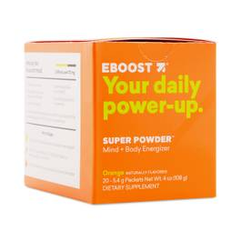 Orange Energy Powder
