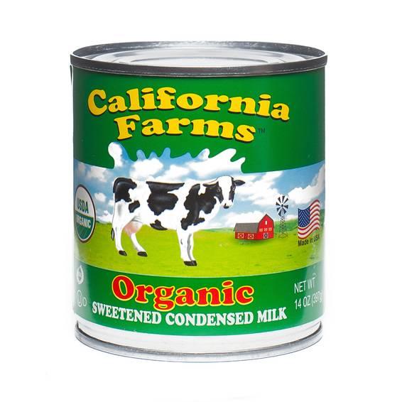 Organic Sweetened Condensed Milk