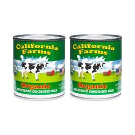 Organic Sweetened Condensed Milk (2-pack)