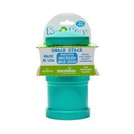 2 Pack Snack Stack, Aqua