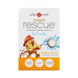 Ginger Rescue® Chewable Ginger, Mighty Mango