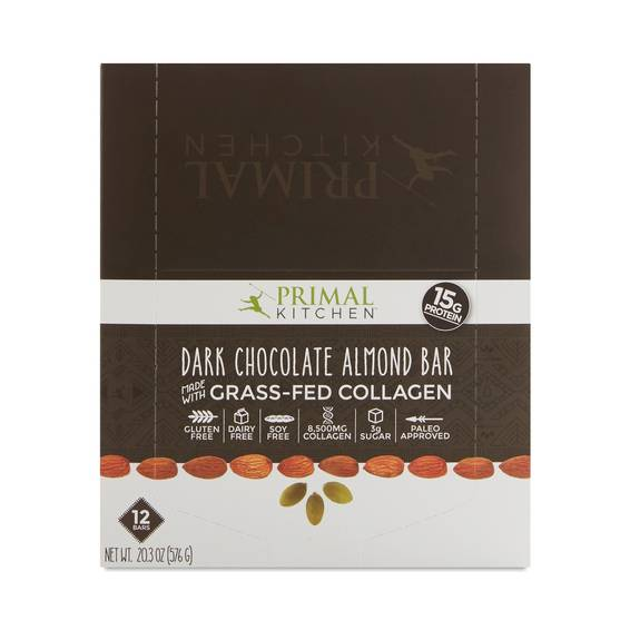 Primal Kitchen Dark Chocolate Almond Bars Thrive Market