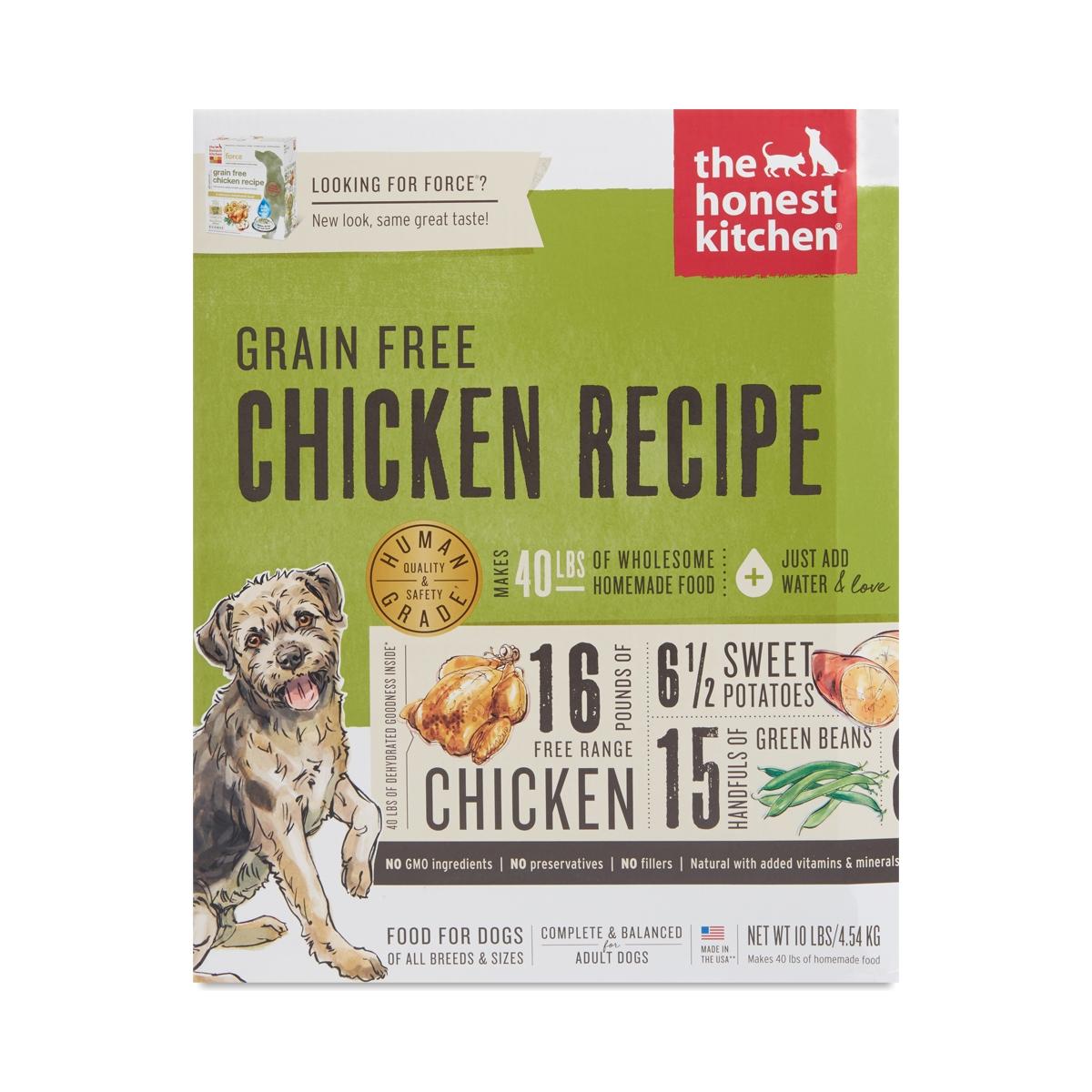 Grain Free Chicken Recipe Dog Food. Thrive · Other · The Honest Kitchen