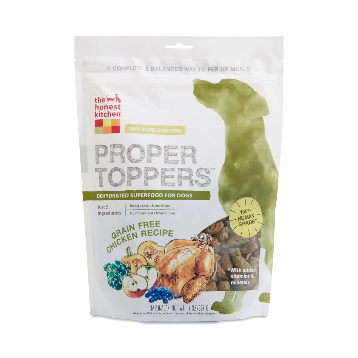 Proper Toppers: Grain Free Chicken Dog Food. Thrive · Other · The Honest  Kitchen
