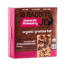 Chocolate Strawberry Organic Granola Bars