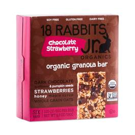Chocolate Strawberry Organic Granola Bars