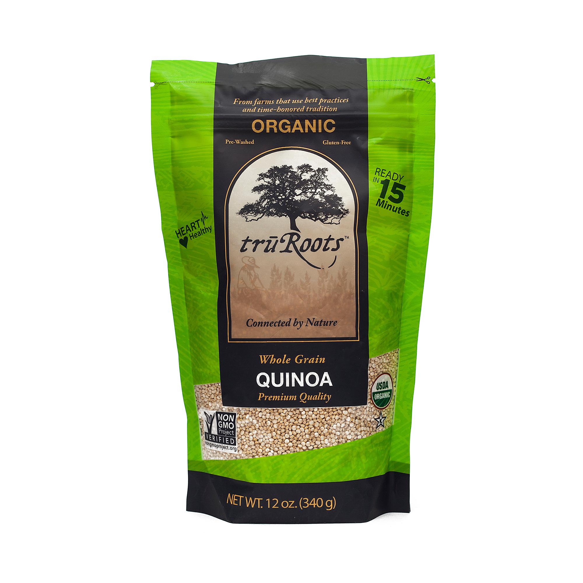 TruRoots Organic Whole Grain Quinoa 12 oz bag