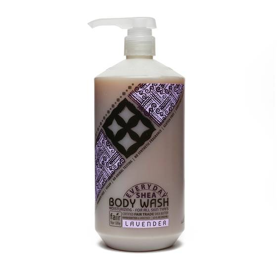 Fair Trade Shea Butter  Body Wash Lavender