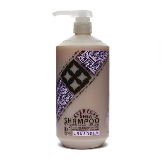 Fair Trade Shea Butter Shampoo Lavender
