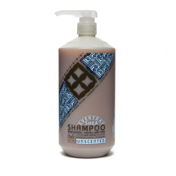 Fair Trade Shea Butter Shampoo Unscented