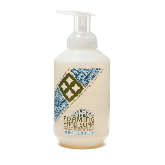 Fair Trade Shea Butter Foaming Hand Soap Unscented