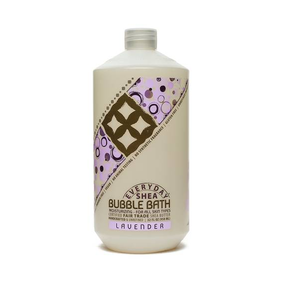 Fair Trade Shea Butter Bubble Bath Lavender