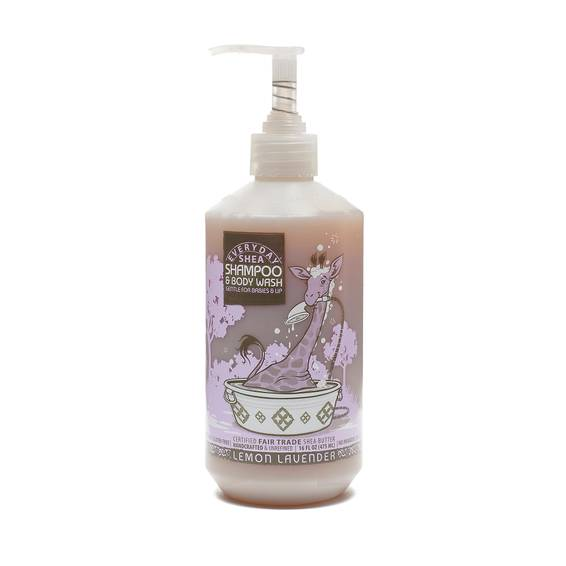 Fair Trade Shea Butter Baby Shampoo and Body Wash