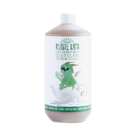 32 Oz Eucalyptus Mint Baby Bubble Bath Fair Trade