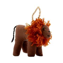 Lion Stuffed Animal Ornament