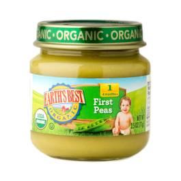 Peas Baby Food Stage 1