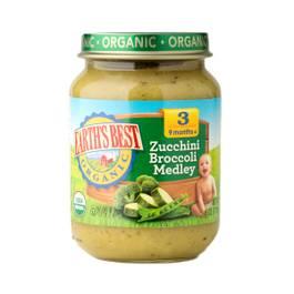 Zucchini Broccoli Medley Baby Food Stage 3