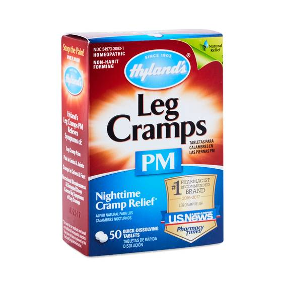 Leg Cramps PM Tablets by Hyland's - Thrive Market