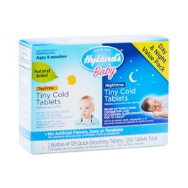 Tiny Cold Tablets Day & Nighttime for Babies