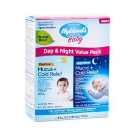 Baby Mucus + Cold Relief Day & Night