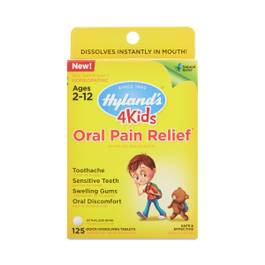 4 Kids Oral Pain Relief Tablets