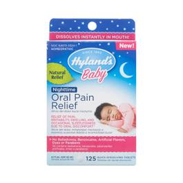 Baby Nighttime Oral Pain Relief Tablets