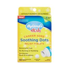 Canker Sore Soothing Dots for Kids