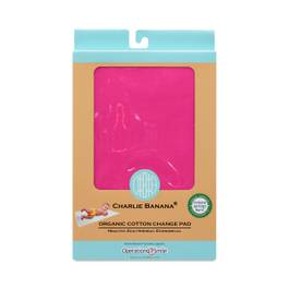 Organic Cotton Change Pad, Hot Pink