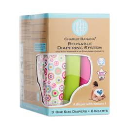 Reusable Diaper System, Wonderland, One Size