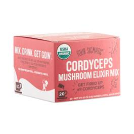 Instant Cordyceps Superfood Mushroom Drink Mix with Ginseng