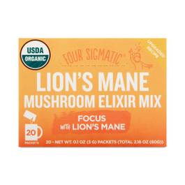 Instant Lion's Mane Superfood Mushroom Drink Mix with Sweet Herbs