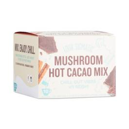 Mushroom Hot Cacao Mix, Cinnamon and Cardamom