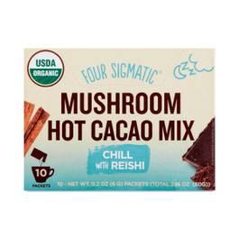 Mushroom Hot Cacao Mix, Reishi with Cinnamon and Cardamom