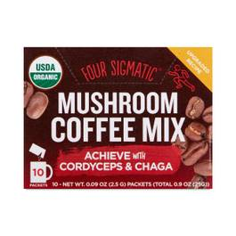 Superfood Mushroom Coffee with Chaga & Cordyceps