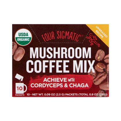 Cordyceps & Chaga Mushroom Coffee Mix