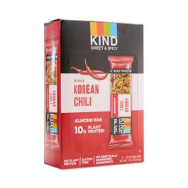 Korean Chili Almond Bars