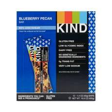 Blueberry & Pecan Bars + Fiber