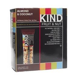 Almond Coconut Fruit & Nut Bars