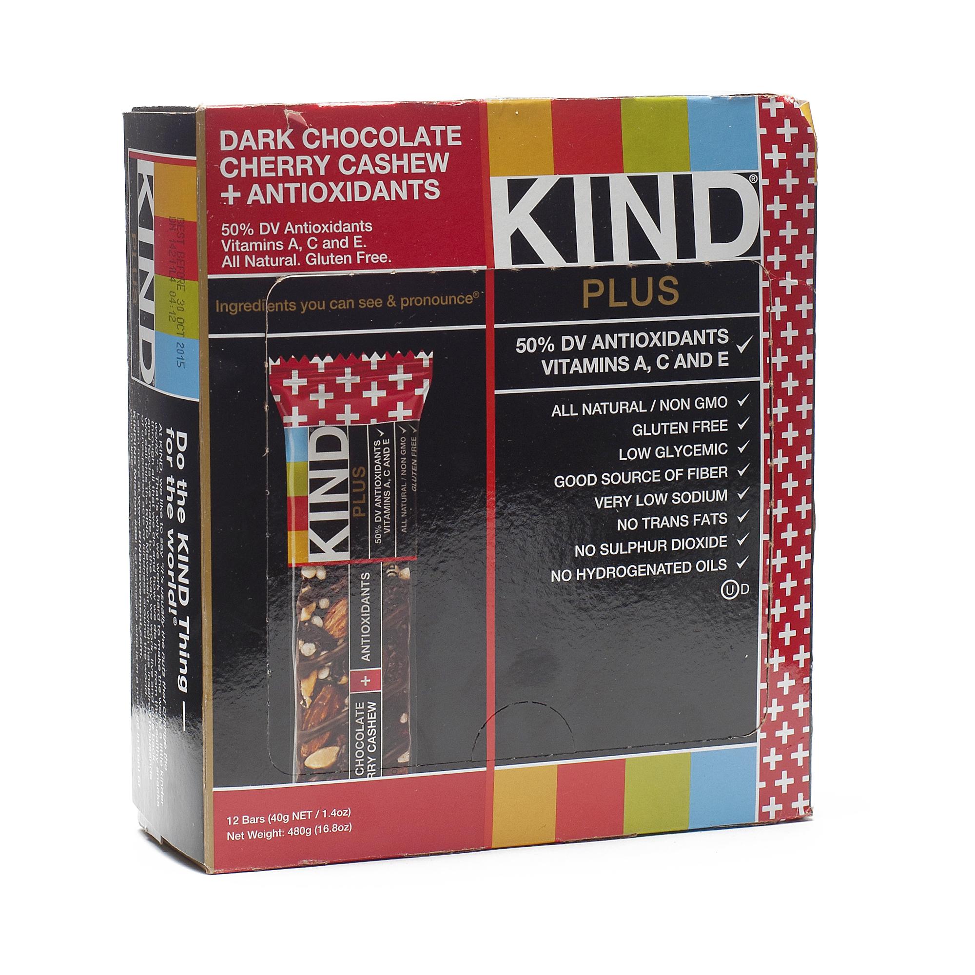 KIND Chocolate Cherries & Cashew Bar with Antioxidants