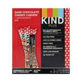 Dark Chocolate Cherries & Cashew Bars + Antioxidants