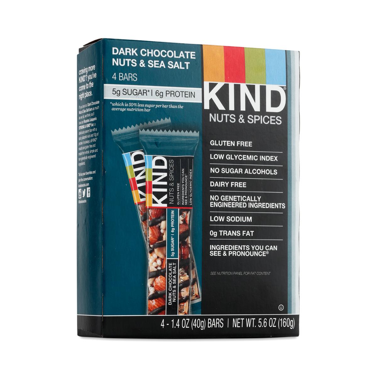 KIND Dark Chocolate Nuts & Sea Salt