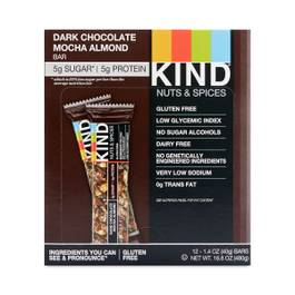 Dark Chocolate Mocha Almond Bar