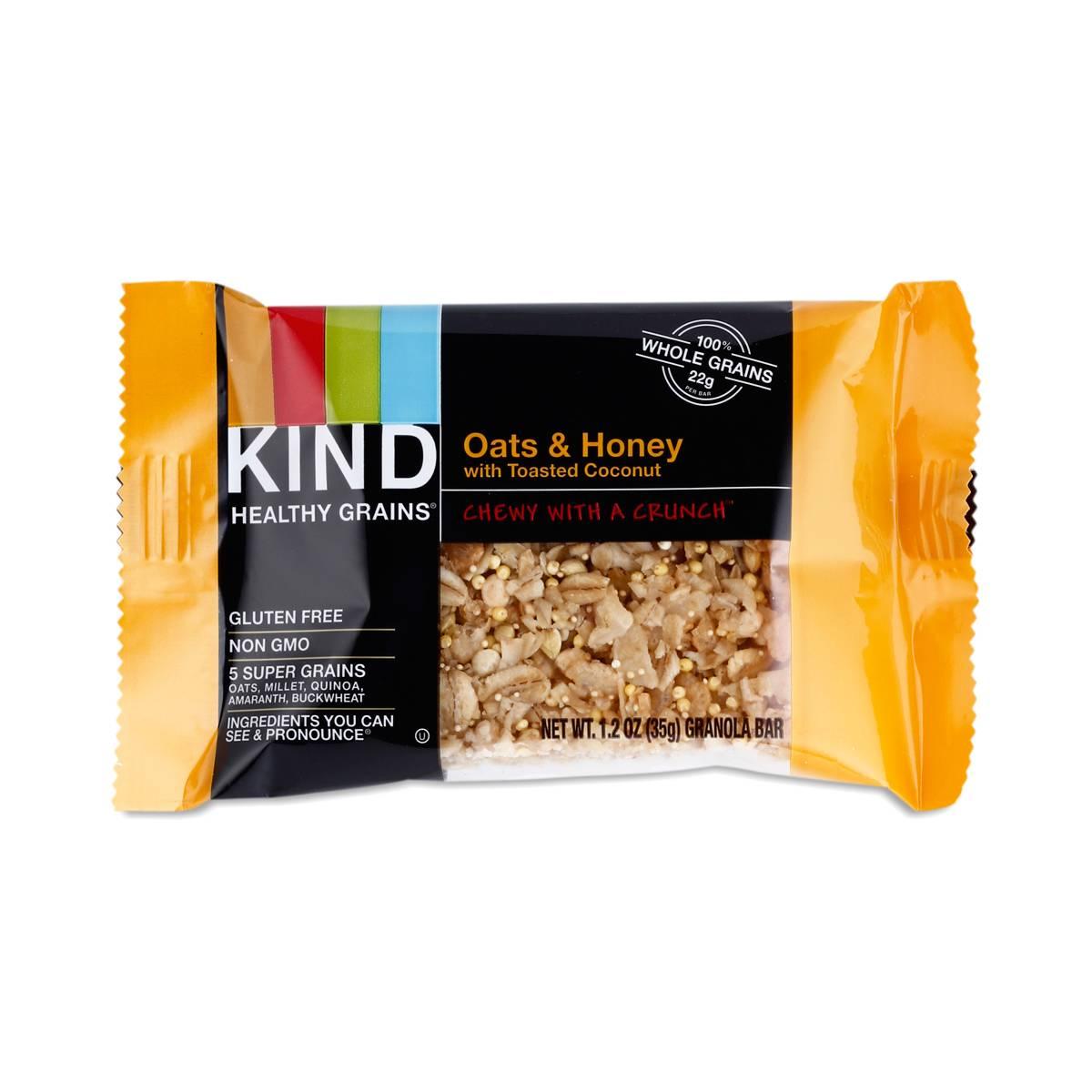 Oats & Honey w/ Coconut Granola Bar by Kind - Thrive Market