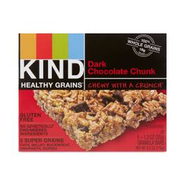 Dark Chocolate Chunk Granola Bars