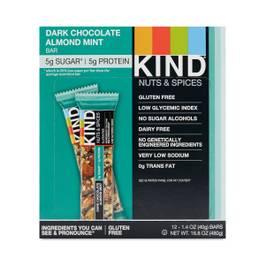 Dark Chocolate Almond Mint Bars