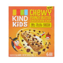 Kids Peanut Butter Chocolate Chip Granola Bar