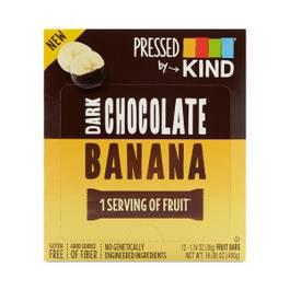 Dark Chocolate Banana Pressed Bars