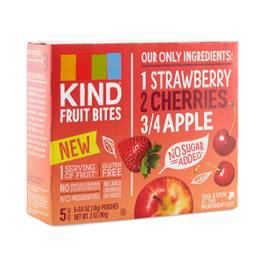 Strawberry Cherry Apple Fruit Bites