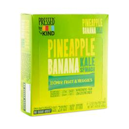 Pineapple Banana Kale Pressed Bars