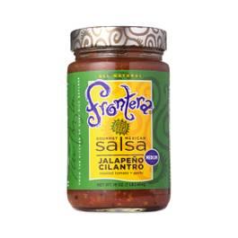 Jalapeño Cilantro Salsa With Roasted Tomato and Garlic